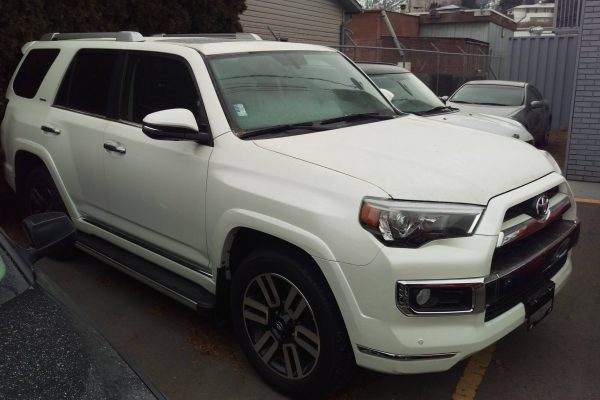 2015 Toyota 4Runner Limited $42,950